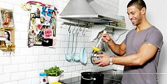 21.01.2009. Sak om sunne supper. Kostholdsekspert Yngvar Andersen. Foto: Jeanette Landfald Bækkevold