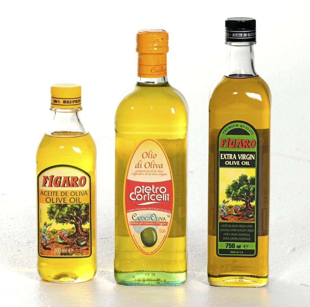 OLJERIKDOM: Olivenolje - dronningen blant oljene.