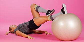 STRAMMER OPP: Beintrening er viktig - det er nemlig den delen med størst andel muskelmasse i hele kroppen, sier personlig trener.