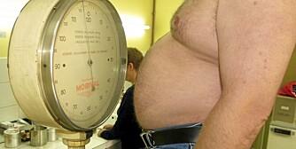 MER SNACKS: Britiske fedre legger på seg når partneren er gravid, viser undersøkelse.