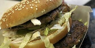 HAMBURGER: Velg burger av karbonadedeig, ikke kjøttdeig.