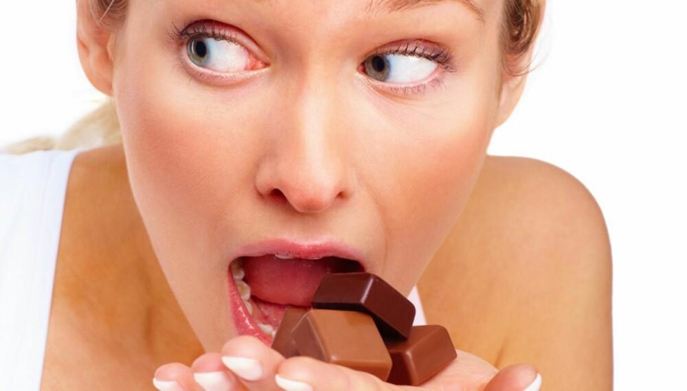 SØTSUG: Ønsker du å hamle opp med søtsuget ditt og bli sjef over sukkerslaven, kommer du ikke utenom kostholdet ditt.