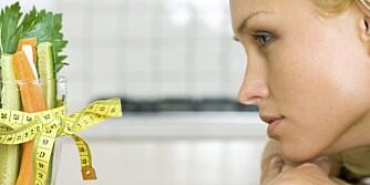 SLANKE TANKER: Visst kan du tenke deg ned i vekt. Det gjelder å låne hodet til en slank person.