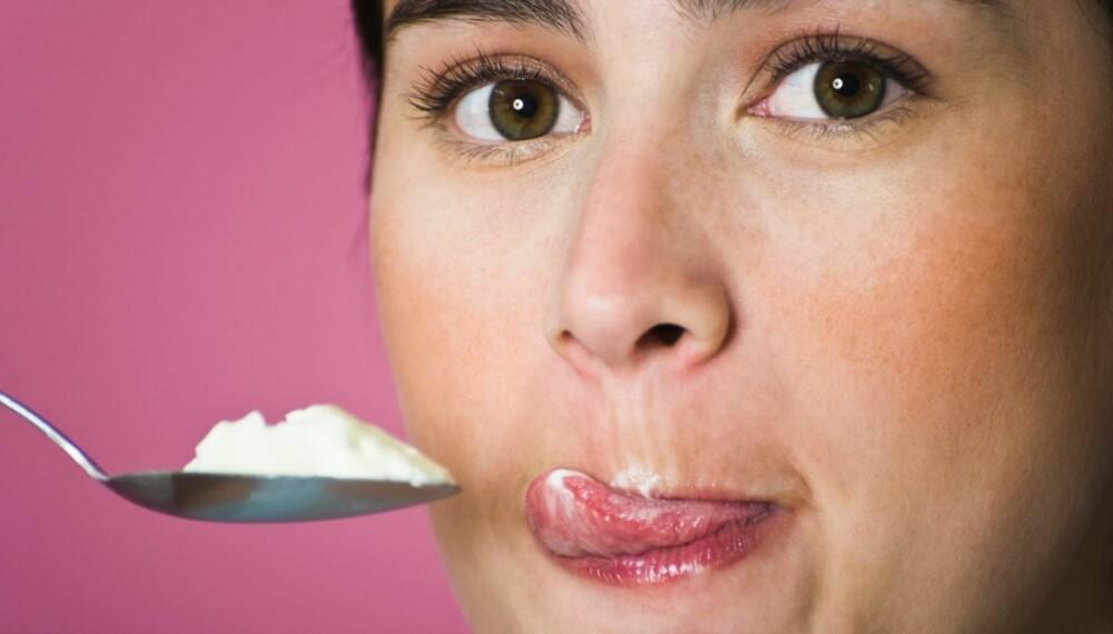 UTMATTES: Det krever mer energi av hjernen å stå imot søtsuget enn å spise søt mat. Til slutt klarer ikke hjernecellene stå imot impulsene om å spise.