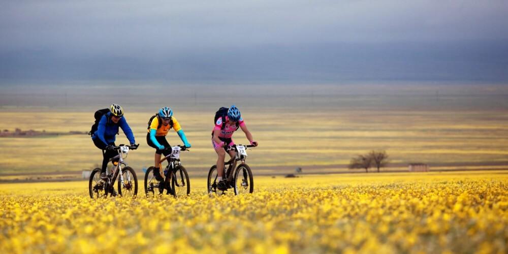 ENKEL TRIM: Ved å sykle til jobben kan du sikre en jevn vektnedgang eller stabil vekt.