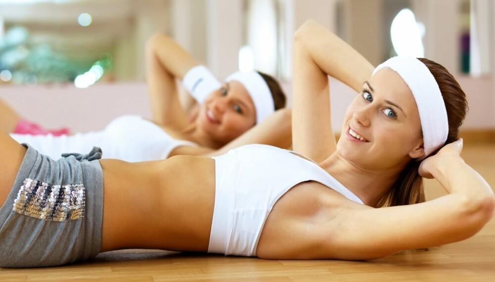 STORT UTBYTTE: En halvtime trening om dagen har mange gode, helseeffekter. Vil du ned i vekt, må du nok imidlertid ta i enda litt mer.