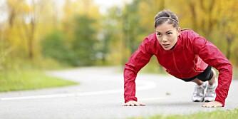 INTERVALLTRENING: Har du liten tid til å trene bør du prioritere korte økter med høy intensitet. Prøv for eksempel tabata-intervaller.