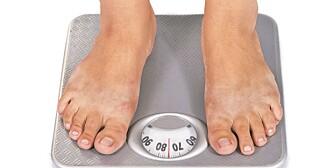 HOLD VEKTEN: Dropp slankekuren og sats på en livsstilsomlegging som du kan leve med resten av livet.