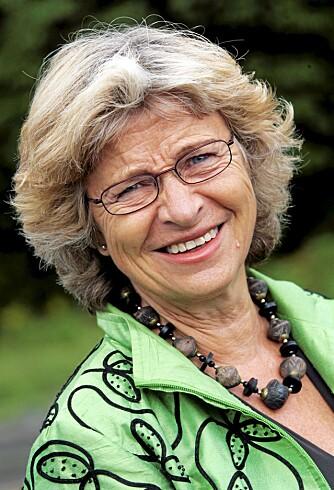 ENIG MED FEDON: - Du må ikke se ut som et eple! sier ernæringsprofessor Wenche Frölich.