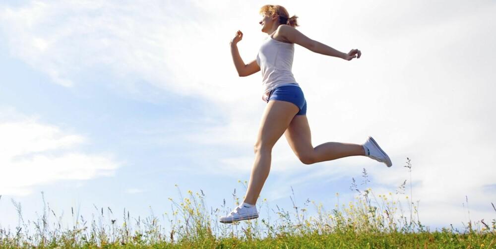 FYSISK AKTIVITET : Mosjon er bra for alle.