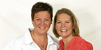 SUNN MAT: Inger Kløkstad (t.v.) og Hege Topstad er damene bak firmaet Ingers Fibermat.