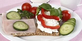 KOSTPLAN: Utenom kostplanen kan du spise kokte eller rå grønnsaker og 1 frukt pr. dag. Spis ingenting utover dette.