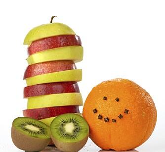 SUNNERE SØTT: Frukt er et godt alternativ når du føler søtsug.