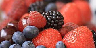 K-VITAMIN: Du finner rikelig med K-vitamin i frukt og bær
