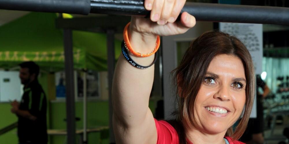 STERK:-  Nå handler det om å vedlikeholde vekten og øke muskelmassen, sier Ruth Anderson.