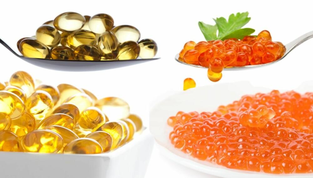 FISKEOLJER: Overlege Berit Nordstrand anbefaler et daglig tilskudd av fiskeoljer, da omega-3 helt klart har en rekke helsefordeler.