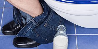 TÅLER IKKE MELK: Du merker om du ikke tåler melk. Da finnes laktosefri melk og meieriprodukter. ILLUSTRASJONSFOTO: Colourbox