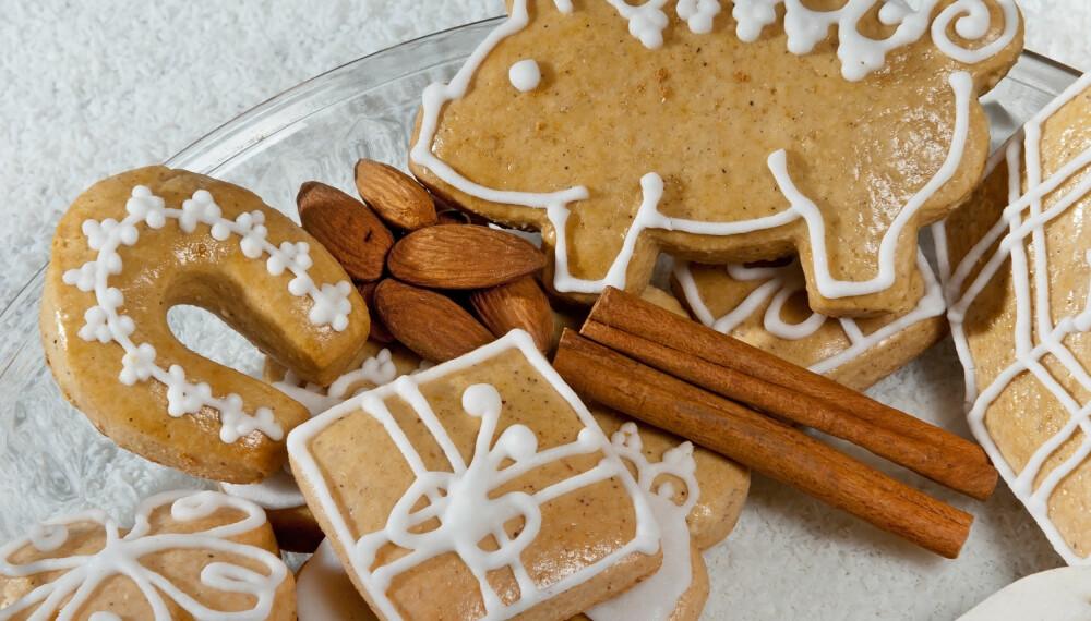 JULEGODTERI: Dropp den dårlige samvittigheten dersom du først skal spise mye søtsaker i julen, mener ekspertene. Det går nemlig helt fint. ILLUSTRASJONSFOTO: Colourbox