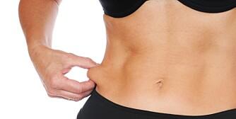 KROPPSFORM: Kroppsfett og muskelmasse forteller mye om formen din.