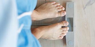 BADEVEKTTABBER: Det finnes andre metoder for å vite om du har gått ned eller opp i vekt.