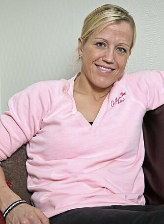 TØFFEST I VERDEN: Håndball-esset Heidi Løke trener to ganger om dagen, og spiser deretter.