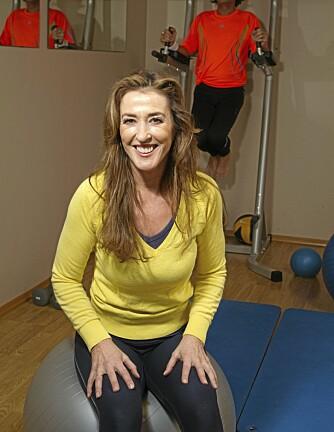 TA DET MED RO: ¿ Ikke overdriv treningen ti å begynne med, oppfordrer Jasmin Haraldsen.