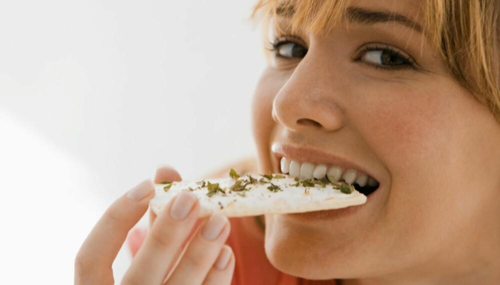 SULTSUG: Slankerens verste fiende er «suget» etter noe å putte i munnen, og det kan være der selv om du nettopp har spist så du nesten sprekker!