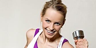 TALENT: Langrennstalent Ingvild Skare Thygesen trener styrke tre ganger i uken.