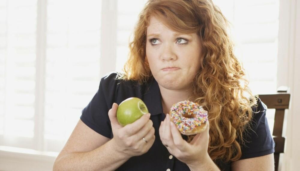 FRISTELSER: Du må ha positivt fokus på målene over tid. Ikke fokuser på det du ikke vil ha og det du ikke får. Forsøk å tenke «jeg skal spise sunt» i stedet for «jeg skal ikke spise sjokolade».
