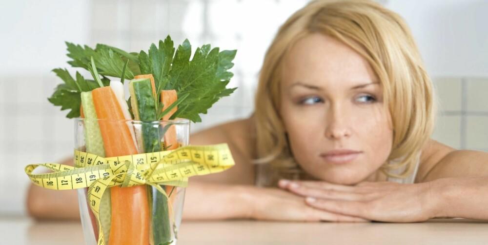 KOS DEG SLANK: Det er viktig ikke å kutte ut all kos, det holder å skjære ned på mengden.