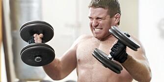IKKE OVERDRIV: Overdreven trening når du slanker deg kan skape stresshormoner som hindrer vekttap.