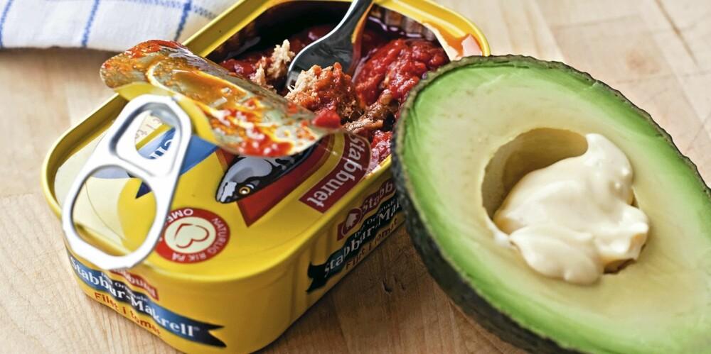 FROKOST: Fisk og avokado