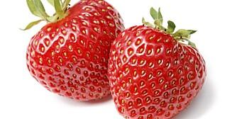 BÆR: Jordbær gir liten stigning i blodsukkeret og er derfor en sunn kilde til karbohydrat. Dessuten er de fulle av antioksidanter.