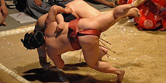 KRAFTKARER: Det er Chanko-nabe-dietten som gjør sumobryterne til hva de er.