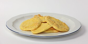 NATURELL: Slik ser de ut når de kommer rett fra ovnen.
