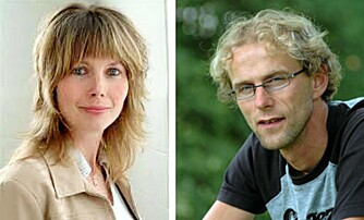 Marianne E. Mathiassen og Birger Svihus.