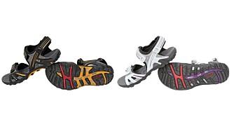 TERNINGKAST SEKS: Hyper Terrain III fra Ecco er en av to sandaler som får full pott i testen.