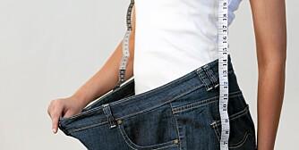 VEKTTAP: Når du en viss liv-hofte-ratio, er det ingen vei utenom å gå ned i vekt.