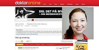 DOKTOR ONLINE: Randi Vassbotn Norheim er ny ernæringsfysiolog på Doktor Online, og svarer i forumet for mat og ernæring.