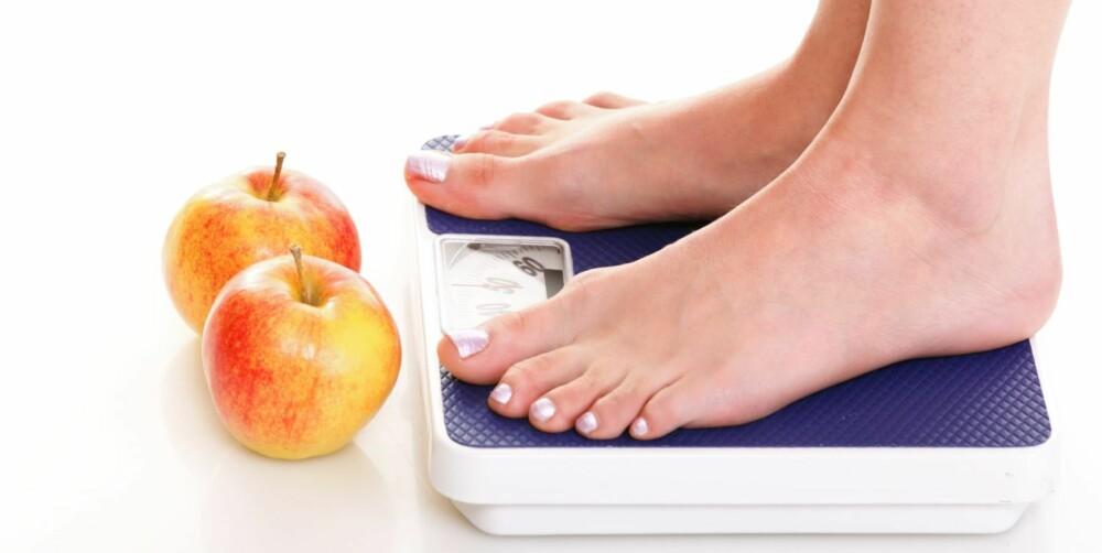 FRUKT: Mer frukt og grønt kan gi vektøkning siden det totale kaloriinntaket vil øke, hvis man da ikke spiser frukt og grønt i stedet for mer kaloririke matvarer.