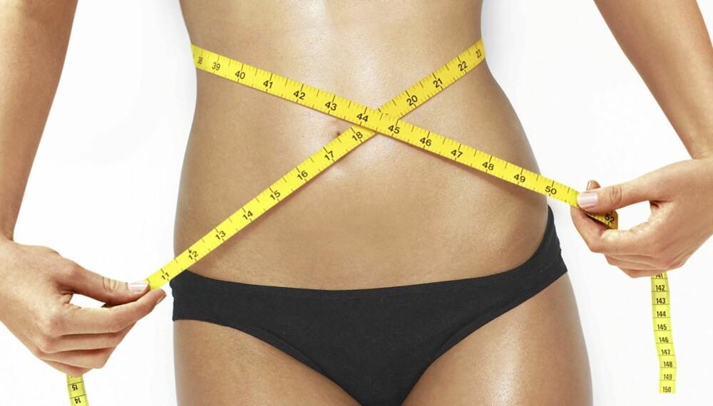 IKKE VENT: Tar du av to kilo nesten like fort som de kom på, er det lettere å holde vekten.