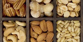 STEINALDERMAT: Hovedsakelig spiste man animalske matvarer i Steinalderen, altså kjøtt og fisk, i tillegg til det man kunne finne av bær, frukt, grønnsaker, frø og nøtter.