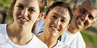 GENER AVGJØR: Ikke alle blir veldig sprek, selv om de trener mye.