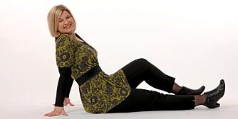 SLUTT: Kari Sørlie har sluttet å gå på ulike slankekurer. Nå holder hun vekten uten kur.