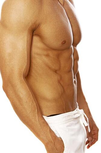 MER SEX: Mindre kroppsfett øker testosteron-nivået, noe som fører til økt sexlyst.