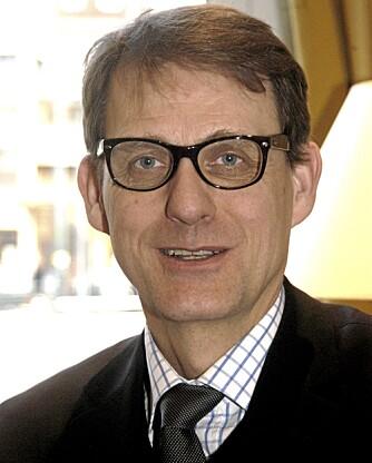 HJERNEFORSKER: Martin Ingvar (55) er hjerneforsker ved Karolinska institutet i Stockholm og har lenge interessert seg for hjernens belønningssystem.