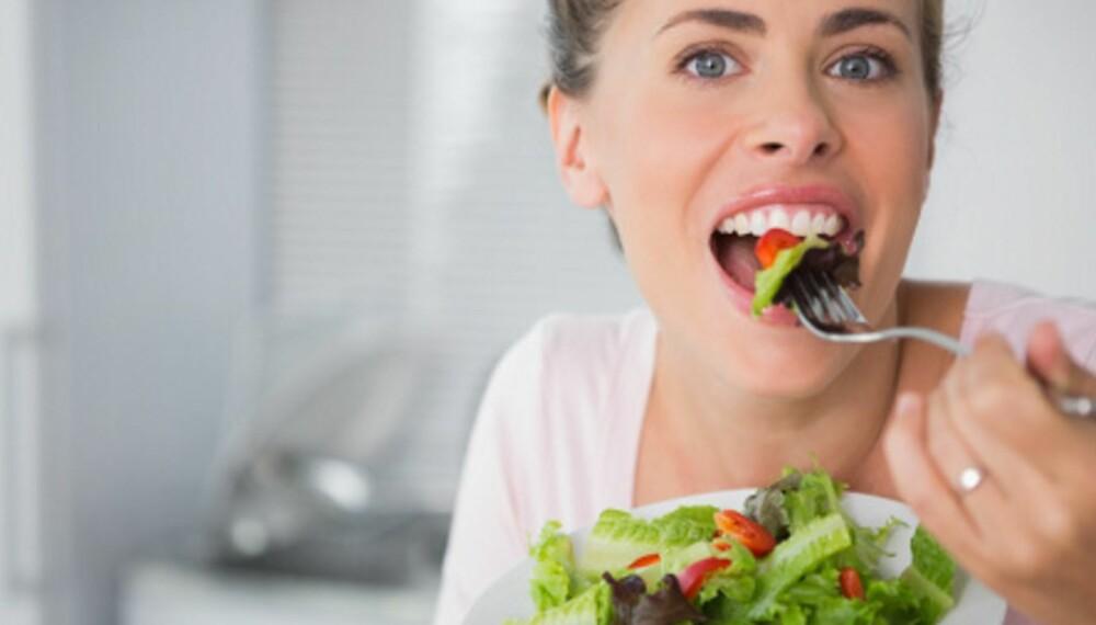 SPIS DEG FRISK: Ved å endre kostholdet kan du regulere blodsukkeret, og unngå å måtte spise medisiner for diabetes type 2.