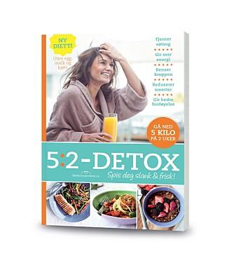 5:2-DETOX finnes også som bok.