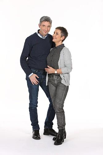 MER LEK: Elin og Jan ble overrasket over effekten vekttapet hadde på parforholdet.