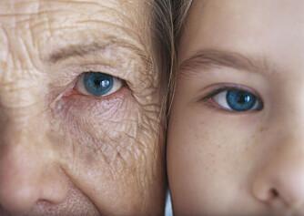 ALDERSTEGN: Rynker kommer med alderen, enten du vil eller ei. ILLUSTRASJONSFOTO: Colourbox